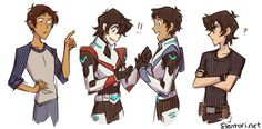 """If you're Keith, and HE'S Keith, then who's flying the lion??"" Aka: Lance and Keith meet Nico and Percy"