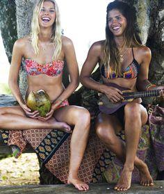 Billabong Bikinis // neon safari