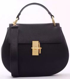 Black Chloe Medium Drew Shoulder Bag sale at discount price - USD 329.  Free shipping by courier to your door. Find more on http://www.luxtime.su/