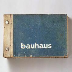 First Bauhaus wallpaper sample book.