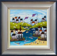 Crab Cafe by Rozanne Bell. Available from Artworx Gallery, Shropshire. www.artworx.co.uk