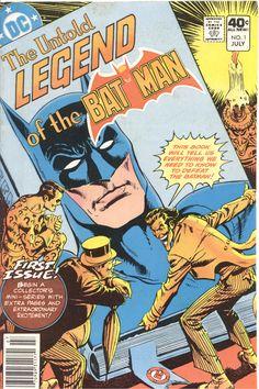 The Untold Legend of the Batman no.1 Cover.