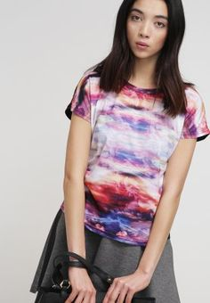 Nümph - SKYS - T-shirts print - georgia peach