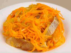 5 самых быстрых и вкусных салатов на праздничный стол - interesno.win Carrots, Spaghetti, Vegetables, Ethnic Recipes, Food, Essen, Carrot, Vegetable Recipes, Meals