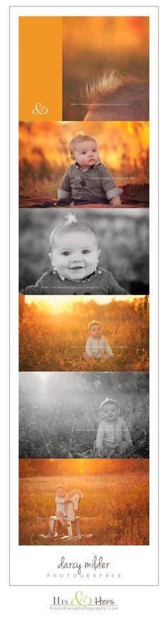 6 month baby session // Iowa Child Photographer, Darcy Milder