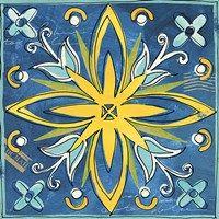Tuscan Sun Tile I Color Fine Art Print