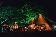 Tipi wedding at Lake Tarawera, Rotorua NZ