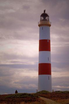 Tarbetness lighthousenear Portmahomack east of RossHighlandScotland57.863333, -3.776667  © Steven F Watson 2009 by WatscapePhoto, via Flickr