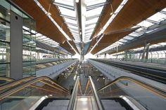 Train station Amsterdam Bijlmer Arena, the Netherlands