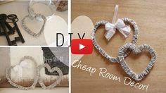 Video Tutorial: Creare delle decorazioni fai da te in stile Shabby Chic per la casa - Arredamento Provenzale