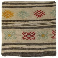 As seen in Good Housekeeping and Better Homes & Gardens! Hundreds of vintage Turkish kilim pillow covers, every size and style at WWW.RUGANDRELIC.COM.