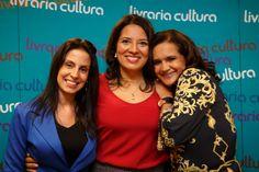 As queridas Assessoras Fernanda e Arleyde Caldi...pessoas lindas que cuidam do nosso livro!