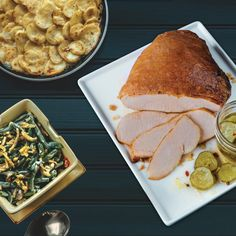 Includes our premium all-white meat turkey and 2 signature sides.