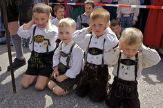 Bavarian Children