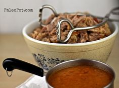 Spicy Italian Pulled Pork with Sauce