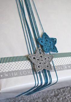 Stars for the birthday child ~ ♥ #crochet #diy #crafts