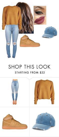 """""""fairytale."""" by giselle760 ❤ liked on Polyvore featuring Nike air force and Mudd"""