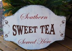 In the South, there's only one kind of tea