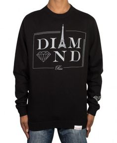 Diamond Supply Co. - Paris Crewneck - $62