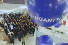 Opened in downtown Helsinki, Finland today. Our latest format 'Gigantti' store. Queues of over 500 customers before the 7am opening and 1300 through the door in the first two hours!