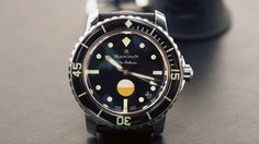 There seems to be a running theme this year at Baselworld and it is vintage. Joining in on the trend is Blancpain with its Tribute to Fifty Fathoms MIL-SPEC. Based on the original MIL-SPEC 1 that was designed by Jean-Jacques Fiechter and produced in 1957, this is the first time Blancpain has produced a modern MIL-SPEC and it doesn't disappoint. Let's dive in (pun totally intended).