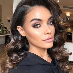 Wedding Guest Makeup, Prom Make Up, Full Eyebrows, Special Occasion Hairstyles, All Things Beauty, Cut And Color, Natural Makeup, Makeup Inspiration, Hair Makeup