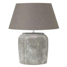 Voet tafellamp Lara - grijs