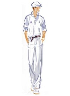 Ralph Lauren will outfit all 800 members of the US Olympic team. Here's what the closing ceremony uniforms look like. Man Illustration, Ralph Lauren, Fashion Design Sketches, Fashion Designers, Fashion Face, Male Fashion, Fashion Portfolio, Costume, Fashion Quotes