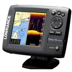 The Lowrance Elite 5 set comes with rapid-release mounting bracket, transducer with transom-mount and dual frequency and a manual for installation and operation guide. It is also available as a separate chartplotter or fishfinder.
