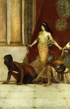 Delilah and the Philistines by Jean Joseph Benjamin Constant