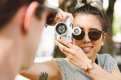 Komono Bel Air, Wildfox, Binoculars, Round Sunglasses, Fashion, Accessories, Moda, Fashion Styles, Fashion Illustrations