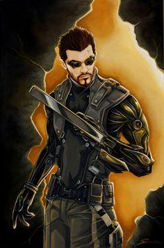 Deus Ex: Adam Jensen by starxade on @DeviantArt