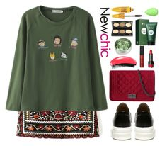 """""""Newchic"""" by gabygirafe ❤ liked on Polyvore featuring beautyblender"""