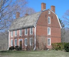 The John Barker House, at 900 Clintonville Road in Wallingford, is possibly the oldest brick house in Connecticut. The gambrel-roofed structure was built by John Barker, a wealthy farmer and slave-owner. The Barker House shares similarities of construction with Connecticut Hall at Yale University, an even earlier brick building. The house has a wood-frame rear ell, built around 1814.
