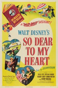 So Dear to My Heart disney movie poster