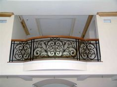 Balcony Grill Design, Balcony Railing Design, Staircase Design, Wrought Iron Stair Railing, Wrought Iron Gates, Door Gate Design, Window Design, Dining Area Design, Iron Balcony