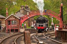 Railway Herald :: Imaging Centre :: 92214 at NYMR Goathland