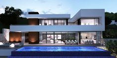Be Spoiled properties, luxury villas Javea, new build, renovations and investments Spain., Be Spoiled by Mike van Essen House Extension Design, House Front Design, Modern Architecture House, Architecture Design, African House, Modern Villa Design, Luxury Homes Dream Houses, Mansions Homes, Dream Home Design