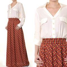 2443 Batik Print One Piece Ladies Muslim Abaya Long by MissMode21, $30.00