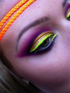 neon yellow eyes...