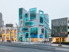 MVRDV · Chungha Building · Divisare