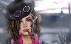 Skin WoW Skins * ALEIDA**new for  Designer Circle    only 99L$ !!      The Steampunk Pipe  [NikotiN]     Scarf * NS::  free!! group g...