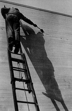 Shadow Artist, Paris, 1926 by André Kertész