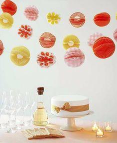 DIY Cupcake Liner Pom-Pom Garland