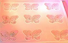Butterfly Guest Soap Mold Flexible with 9 Cavities. $7.95, via Etsy.