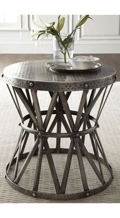 industrial chic side tables | Traditional Side Tables And Accent Tables - page 5