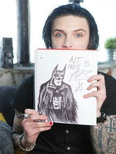 Image result for Andy Biersack without tattoos