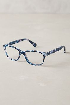 Marbled Demi Reading Glasses - anthropologie.eu
