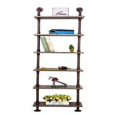 Pipe Desk, Pipe Table, Ladder Bookshelf, Bookshelves, Industrial Pipe, Industrial Design, Black Pipe, Pipe Shelves, Pipe Furniture