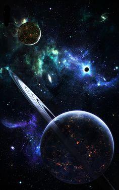 #planets #nebulas